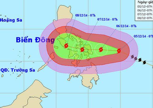 Công điện khẩn ứng phó với siêu bão Hagupit - Ảnh 1
