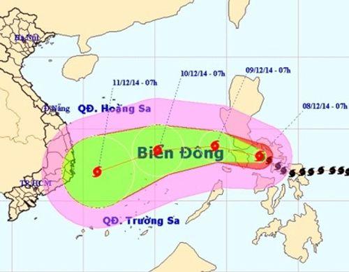 Tin mới nhất: Ngày mai, bão Hagupit sẽ vào biển Đông - Ảnh 1