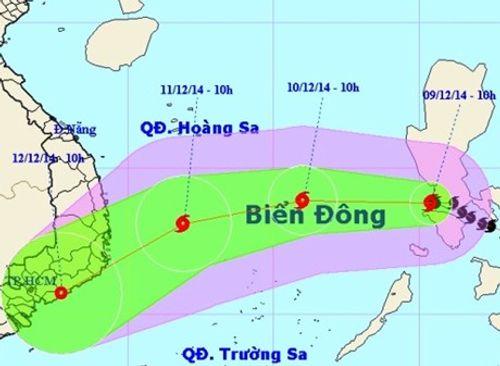 Bão Hagupit suy yếu dần, miền Bắc rét đậm - Ảnh 1