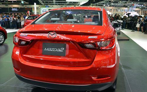 Xem trước Mazda 2 sedan 2015 trước khi về Việt Nam - Ảnh 5