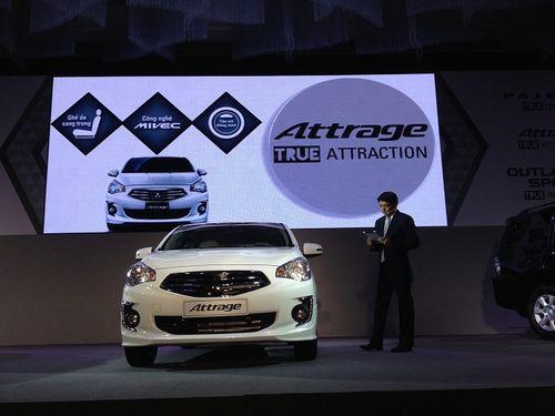 Mitsubishi Attrage - Sedan nhập khẩu, giá từ 468 triệu đồng - Ảnh 1