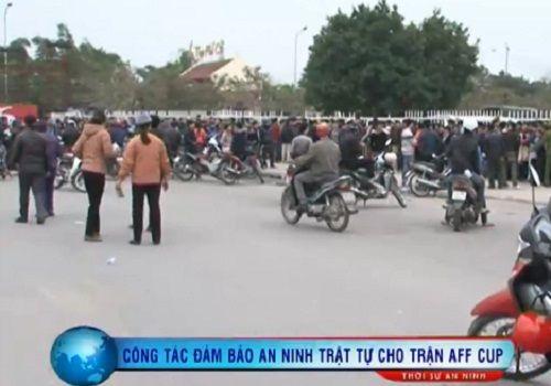 Ra quân đảm bảo an toàn trận Bán kết Việt Nam-Malaysia - Ảnh 1