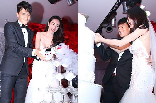 """Toàn cảnh ngày """"Đại hỉ"""" của 4 cặp đôi đình đám trong showbiz Việt - Ảnh 6"""