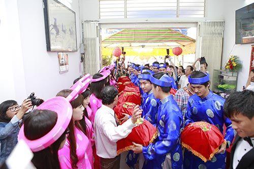 """Toàn cảnh ngày """"Đại hỉ"""" của 4 cặp đôi đình đám trong showbiz Việt - Ảnh 2"""