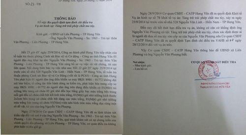 Công an tỉnh Hưng Yên thông báo về vụ việc ông Nguyễn Văn Phượng - Ảnh 1