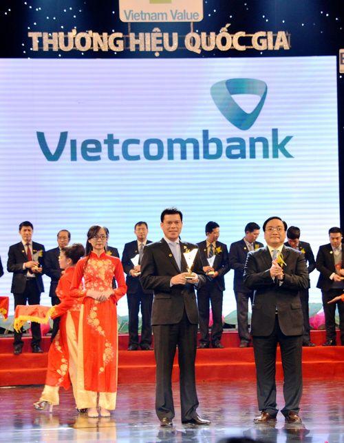 Vietcombank lần thứ 4 liên tiếp đạt Thương hiệu Quốc gia - Ảnh 1