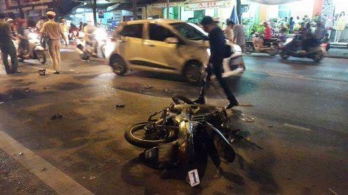 Huế: Hai xe máy tông nhau, một cầu thủ bóng đá nguy kịch - Ảnh 1