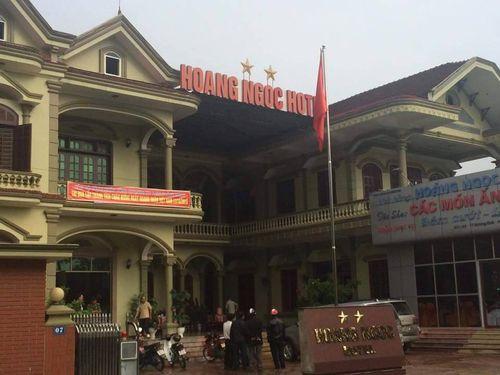 Phát hiện cặp vợ chồng thương vong trong khách sạn tại Hà Tĩnh - Ảnh 1