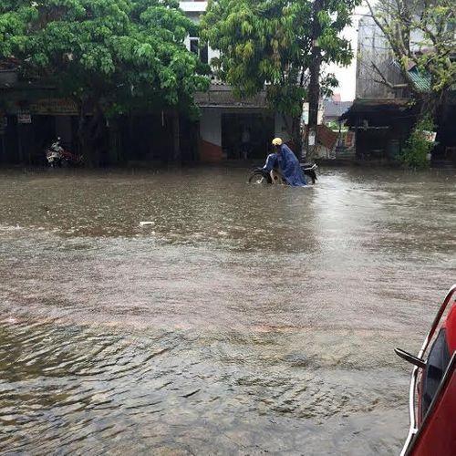 Hà Tĩnh: Những hình ảnh bi hài sau cơn mưa tiểu mãn - Ảnh 1