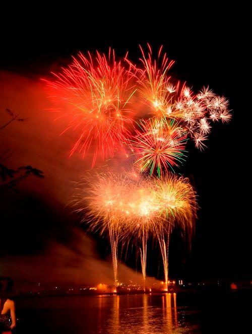 """Mãn nhãn với """"bữa tiệc"""" pháo hoa mừng 41 năm thống nhất đất nước - Ảnh 9"""