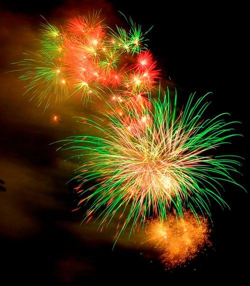 """Mãn nhãn với """"bữa tiệc"""" pháo hoa mừng 41 năm thống nhất đất nước - Ảnh 2"""