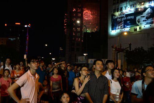 """Mãn nhãn với """"bữa tiệc"""" pháo hoa mừng 41 năm thống nhất đất nước - Ảnh 8"""