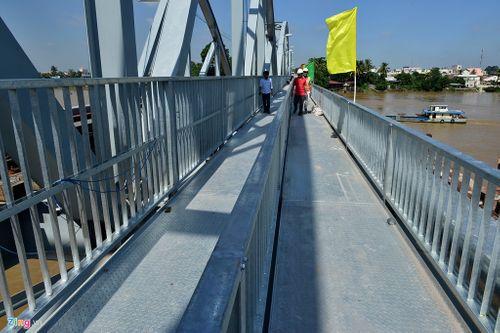 Cho phép tàu chạy thử trên cầu Ghềnh trước ngày khánh thành - Ảnh 2