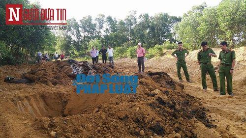 """Chủ tịch Hà Tĩnh chỉ thị """"hỏa tốc"""" xử lý vụ chôn chất thải Formosa trong rừng - Ảnh 2"""