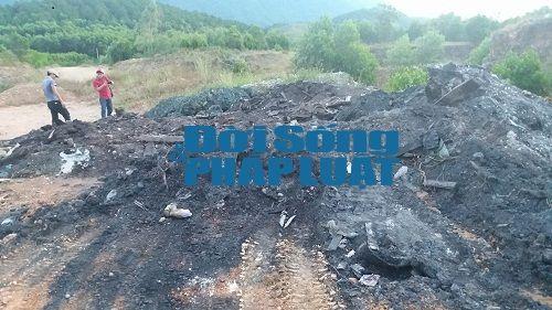 Cận cảnh chất thải Formosa được chỉ đạo đổ gần nhà dân - Ảnh 4