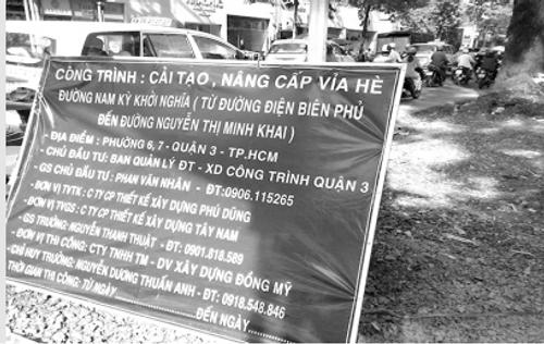 Tan nát vỉa hè Sài Gòn - Ảnh 1