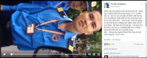 Chặn xích xe cứu thương ép dùng xe 'cò' ở BV Nhi: Lái xe lên tiếng! - Ảnh 1