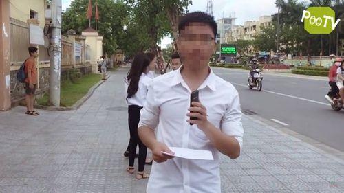 Điều tra nhóm người dựng clip chế nhạo kỳ thi THPT Quốc gia - Ảnh 1