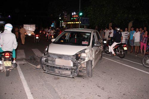 Phó trưởng ban Dân tộc tỉnh Đồng Nai gây tai nạn liên hoàn - Ảnh 1