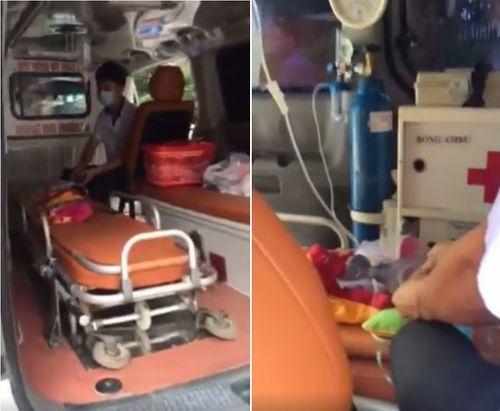 Bộ Y tế yêu cầu BV Nhi Trung ương báo cáo vụ bảo vệ chặn xe cứu thương - Ảnh 1