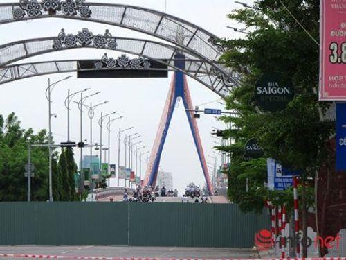 Tạm dừng thi công hầm chui cầu sông Hàn ở Đà Nẵng - Ảnh 1