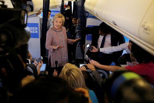 """Câu """"phản đòn"""" tuyệt vời của bà Clinton sau khi bình phục - Ảnh 1"""
