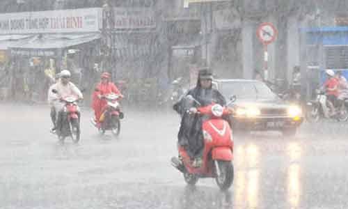 Dự báo thời tiết ngày mai 3/9: Cả nước có mưa dông - Ảnh 1