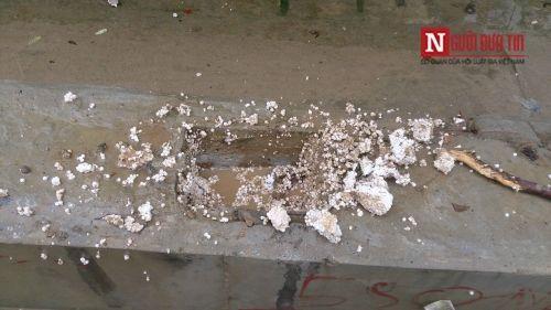 Vì sao cầu 65 tỷ ở Hà Nội bị nghi làm bằng 'bê tông cốt xốp' - Ảnh 2