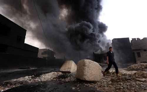 Mỹ xác định chất hóa học IS sử dụng trong vụ tấn công tại Iraq - Ảnh 1