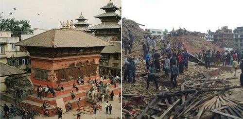 Thảm họa động đất ở Nepal, ít nhất 500 người đã chết - Ảnh 2