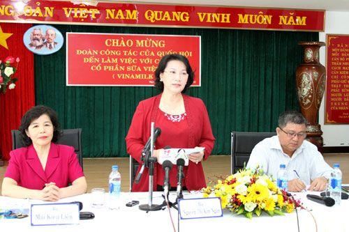 Đoàn công tác của Quốc hội đến làm việc với Vinamilk - Ảnh 1