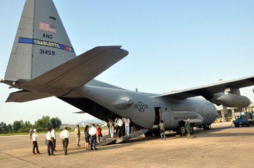 """Khám phá máy bay """"siêu tải"""" của Mỹ tại Đà Nẵng - Ảnh 4"""
