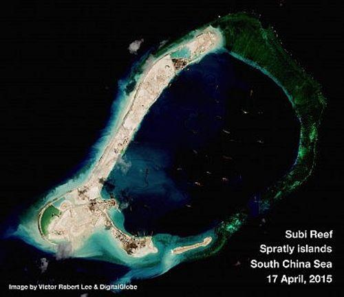 Trung Quốc tiến hành xây dựng chưa từng có tại Trường Sa - Ảnh 2