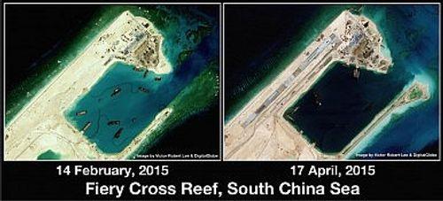 Trung Quốc tiến hành xây dựng chưa từng có tại Trường Sa - Ảnh 4