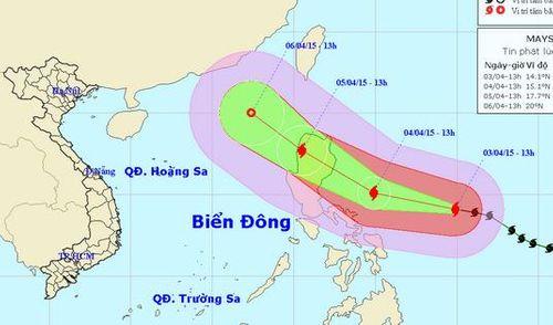Công điện khẩn đối phó cơn bão Maysak gần biển Đông - Ảnh 1