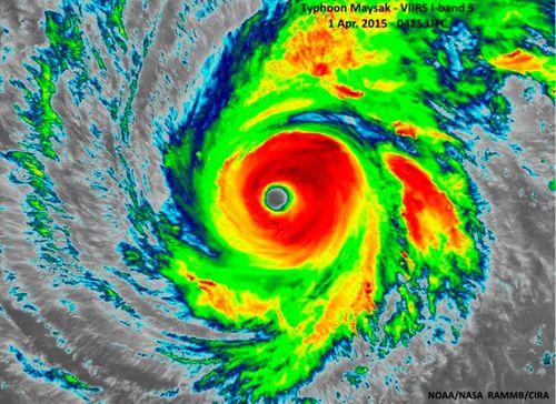 Tin bão Maysak: Siêu bão sắp đổ bộ Philippin - Ảnh 2