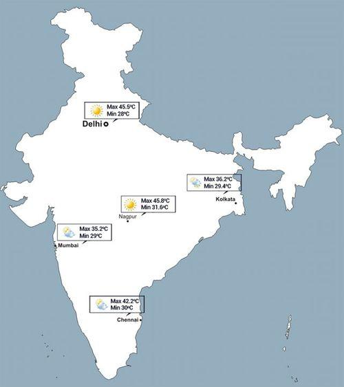 Nắng nóng kinh hoàng khiến hơn 1000 người chết ở Ấn Độ - Ảnh 1