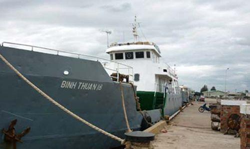 Bình Thuận: Tàu khách đâm chìm tàu cá, 6 thuyền viên rơi xuống biển - Ảnh 1