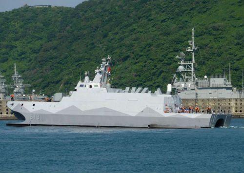 """Công nhân VN đóng tàu tên lửa tàng hình """"lớn chưa từng có"""" cho Đài Loan - Ảnh 1"""