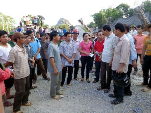 Hà Giang: Sập mỏ đá, 2 công nhân tử vong  - Ảnh 2
