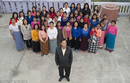 """""""Choáng"""" với chuyện người đàn ông có 39 vợ, 94 con và 33 cháu - Ảnh 2"""