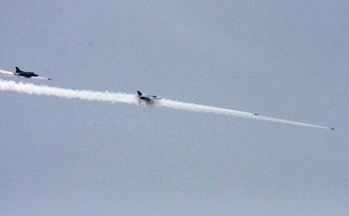 2 máy bay Su-22 rơi ở Bình Thuận do va chạm nhau - Ảnh 1