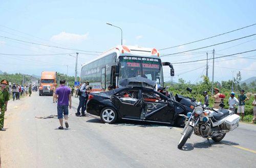 Vụ tai nạn kinh hoàng ở Đà Nẵng: Xe khách chạy 85km/h - Ảnh 1