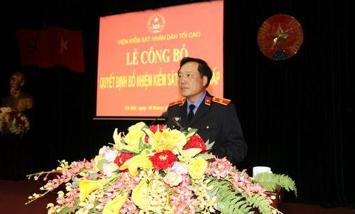 VKSNDTC trao quyết định bổ nhiệm Kiểm sát viên cao cấp - Ảnh 1