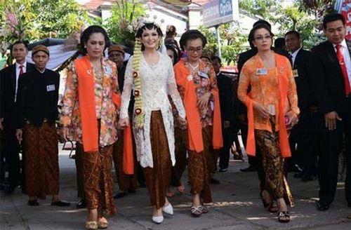Con trai Tổng thống Indonesia kết hôn với hoa khôi xinh đẹp - Ảnh 8