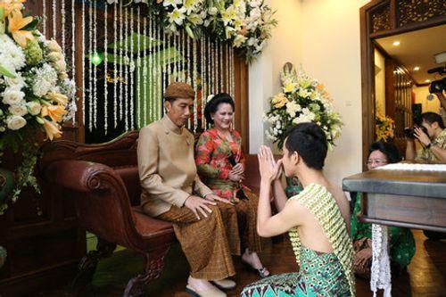 Con trai Tổng thống Indonesia kết hôn với hoa khôi xinh đẹp - Ảnh 3