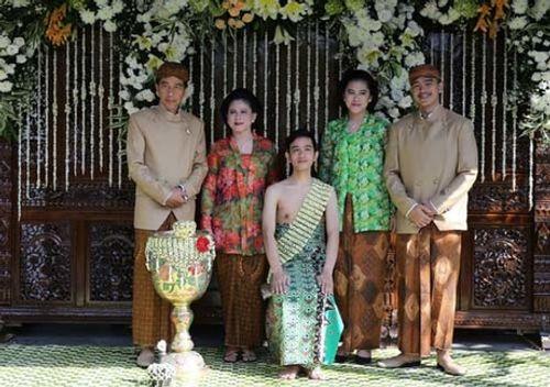 Con trai Tổng thống Indonesia kết hôn với hoa khôi xinh đẹp - Ảnh 5