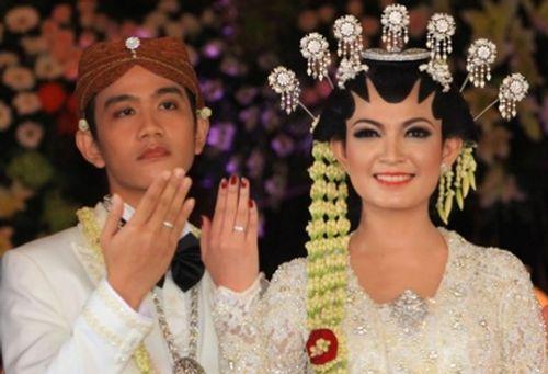 Con trai Tổng thống Indonesia kết hôn với hoa khôi xinh đẹp - Ảnh 6