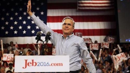 Em trai cựu Tổng thống Bush tranh cử Tổng thống Mỹ - Ảnh 1