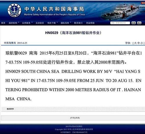 Trung Quốc đưa giàn khoan Hải Dương-981quay trở lại biển Đông - Ảnh 2